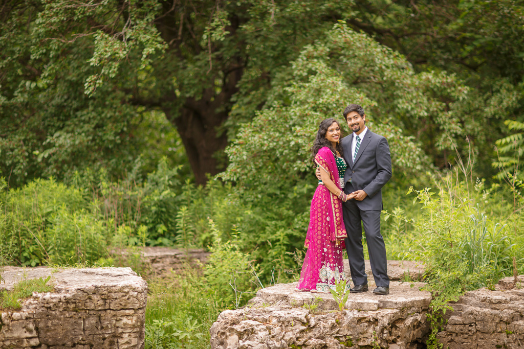 Saint Louis Indian Engagement Wedding Photographer Forest Park 20
