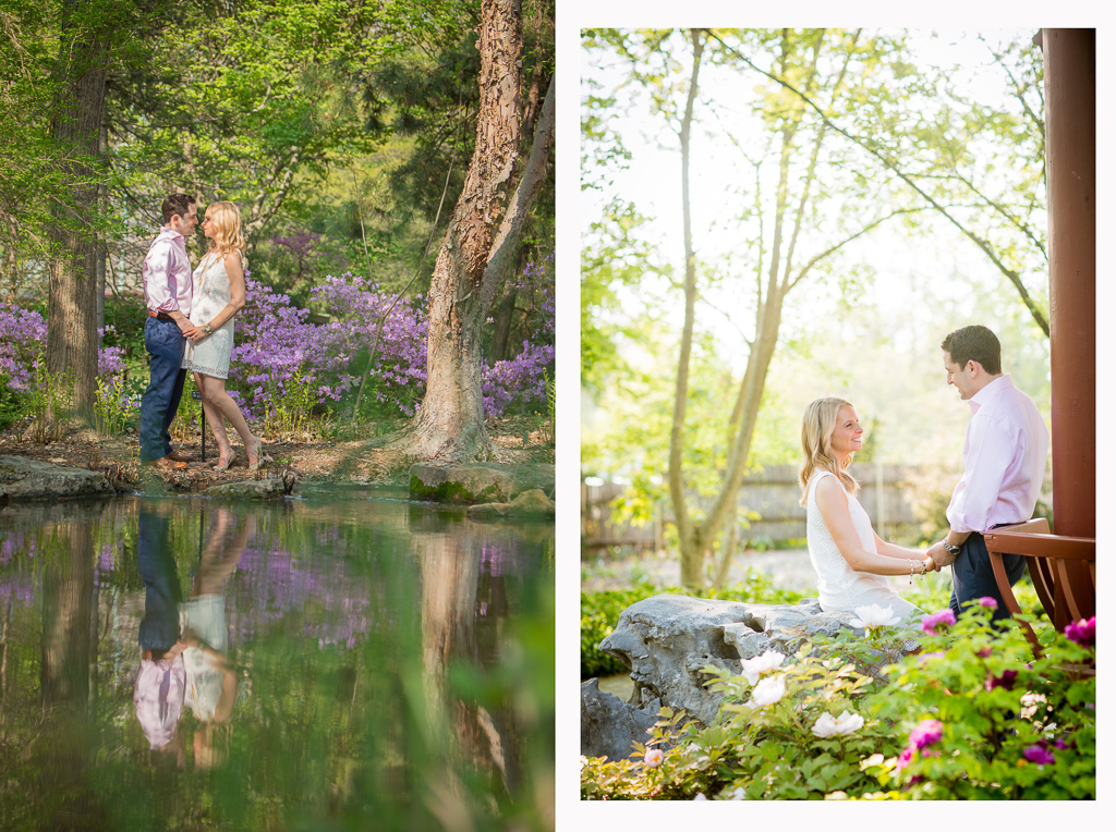 Merveilleux  Saint Louis Wedding Photographer Missouri Botanical Garden Engagement 20