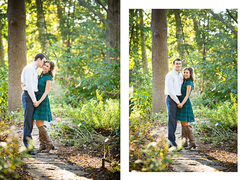 Saint Louis Engagement Wedding Photographer Missouri Botanical Garden  Forest Park 11